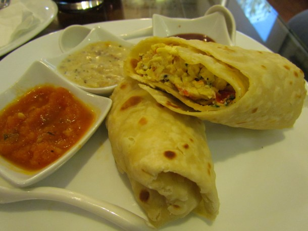 Egg Bhurjee roll