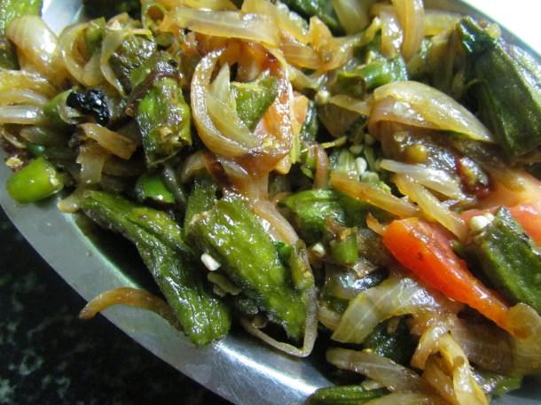 Bhindi pyaz