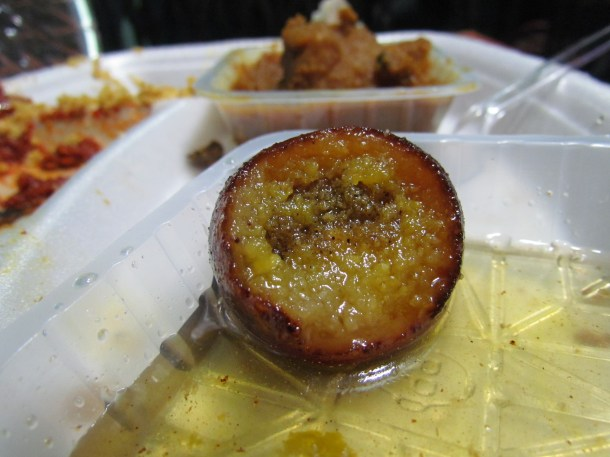 inside the gulab jamun