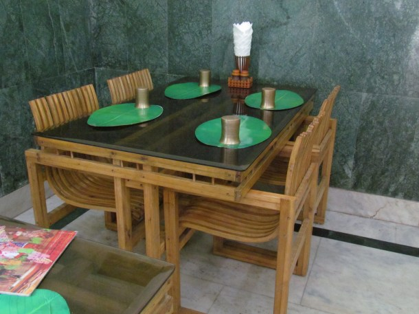 furniture in the restaurant