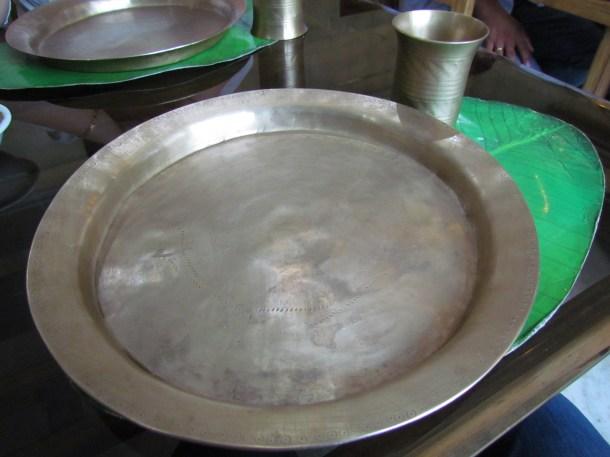 traditional utensils.