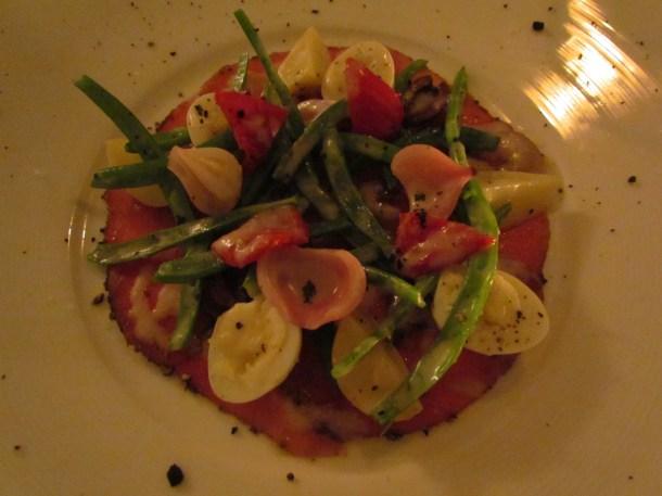 olive signature seared tuna nicoise