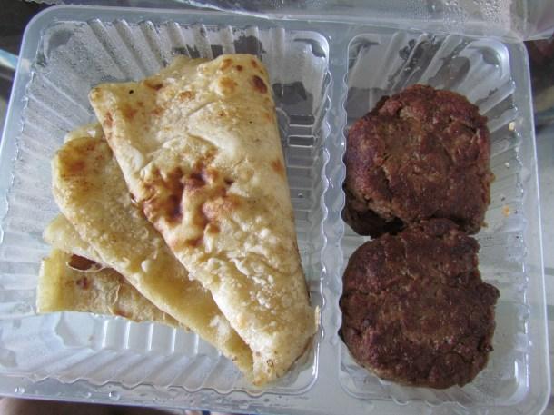 Kabab parathe