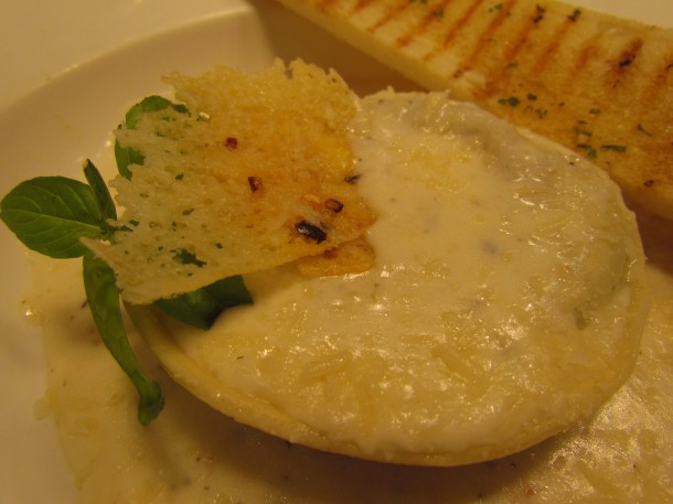 close up of ravioli