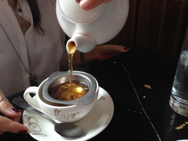 Darjeeling Tea served in a pot
