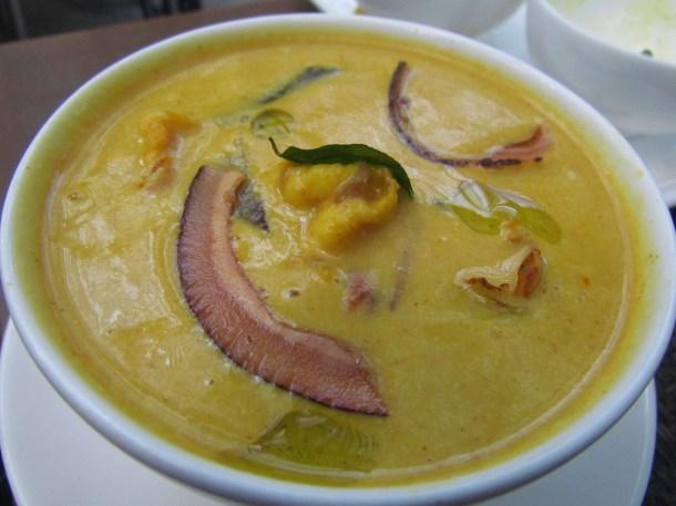 Prawn & raw mango curry