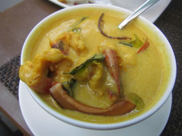 prawn & raw mango curry