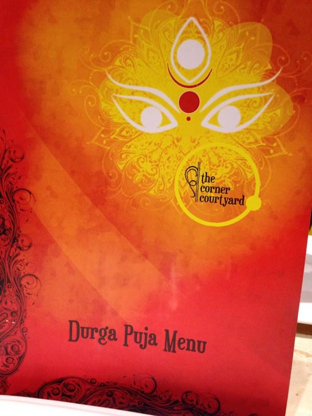 Durga Pujo menu