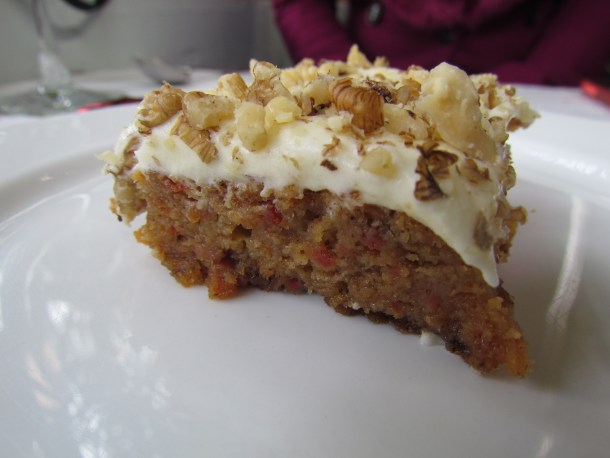 'home made' Carrot cake