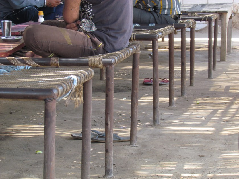 Khatia seating for eating & sleeping