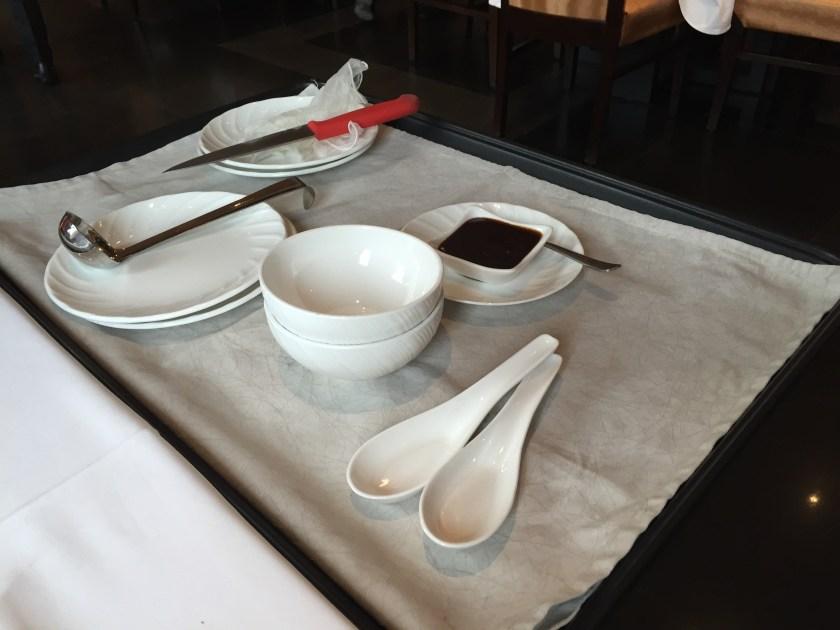 Peking Duck - accompaniments