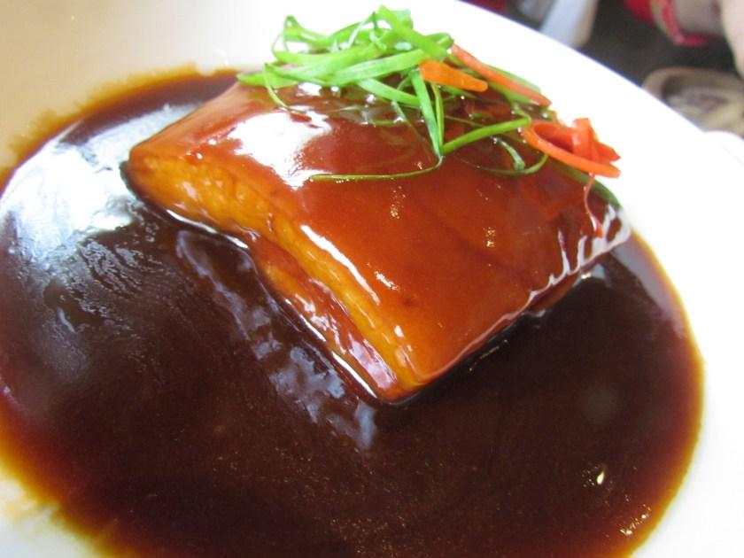 Braised pork belly