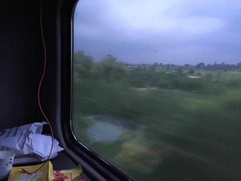 rajdhani train journey