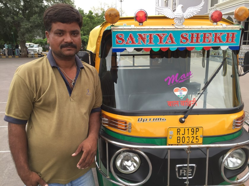 Sher Khan & his auto
