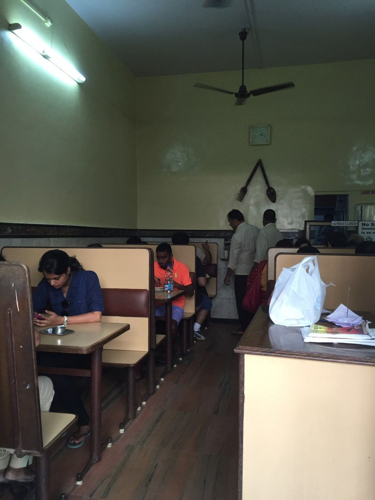 Inside the eatery