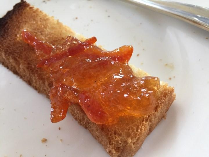 Marmalade on toast