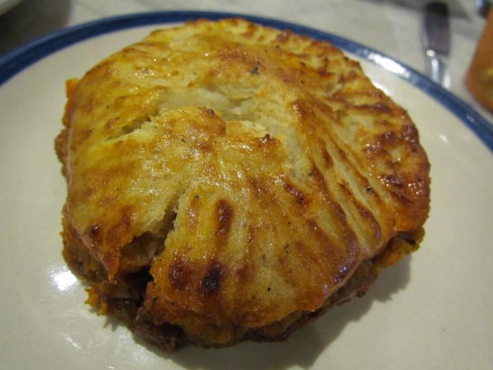 Coutinho's apa de camarao Goan prawn pie