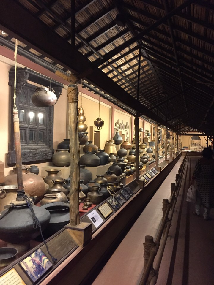 pottery section