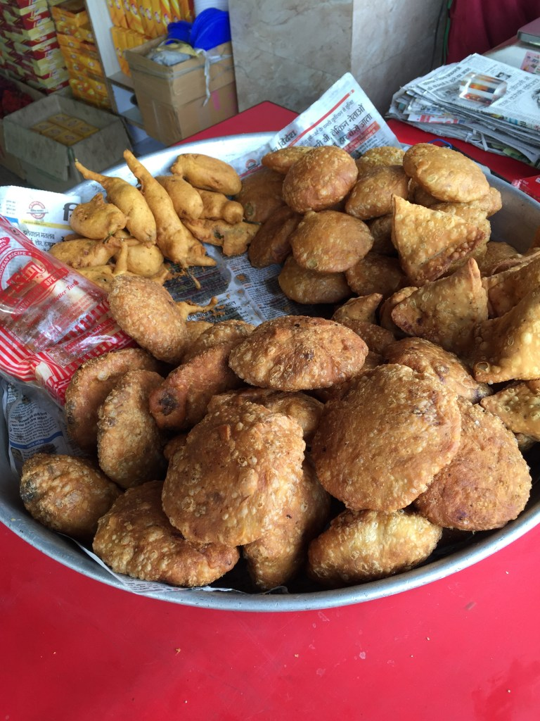 fried food kept