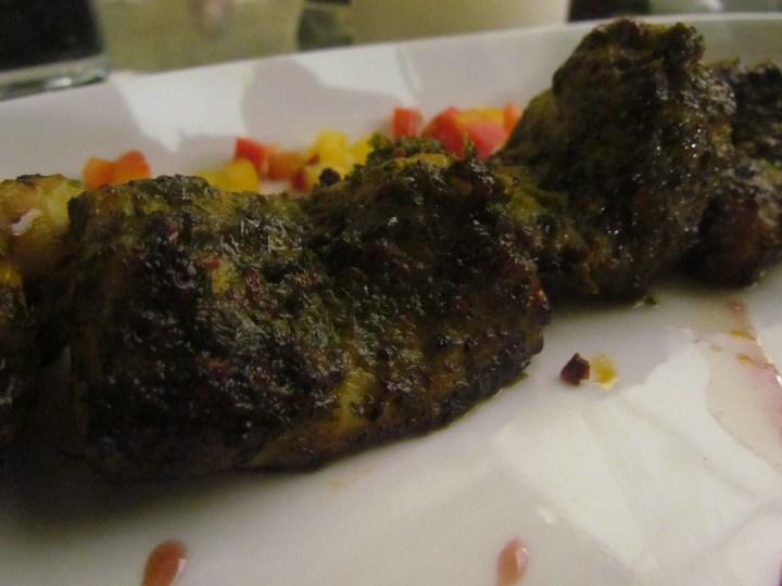 Moroccan fish sea bass