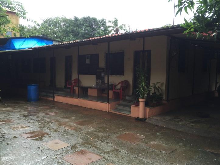 near the entrance