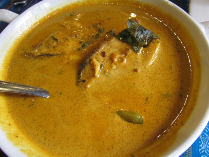 Betki fish with sarson ( mustard paste)