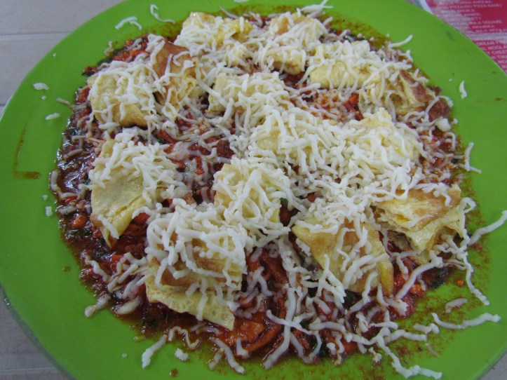 afghani tikka omelet