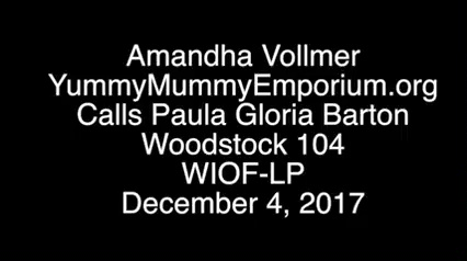 """Amandha Vollmer goes """"Farther Down the Rabbit Hole with Paula Gloria"""" on Woodstock 104"""