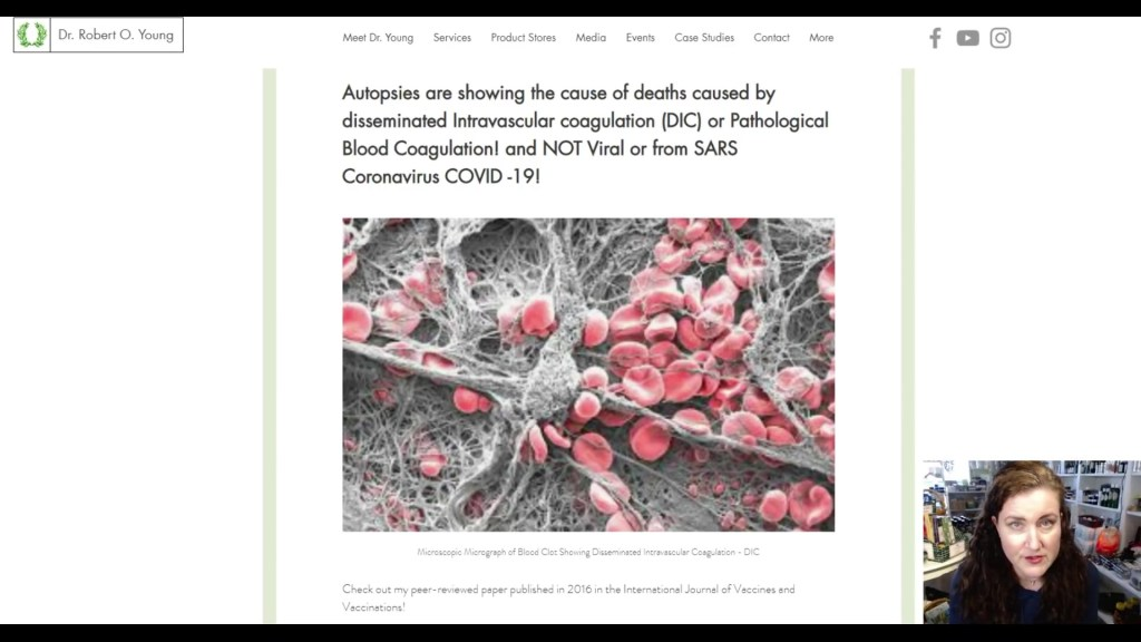 Autopsy's Show Disseminated Intravascular Coagulation – How to Keep Your Terrain Strong and Healthy