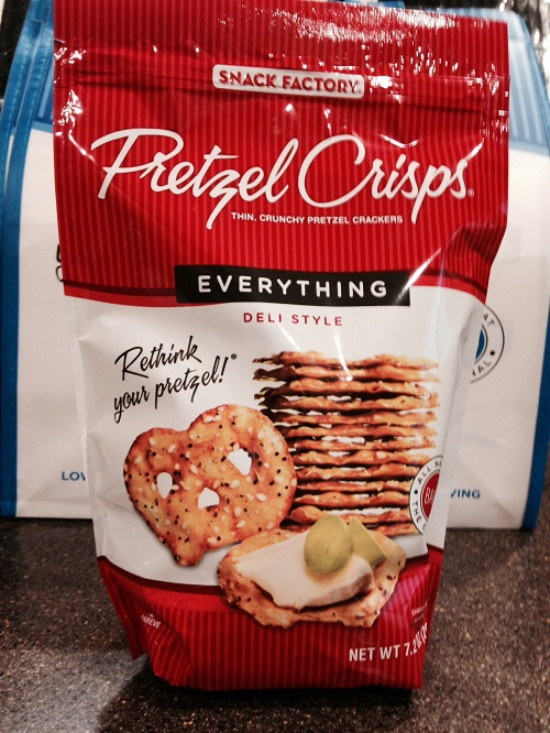 pretzel crisps-everything