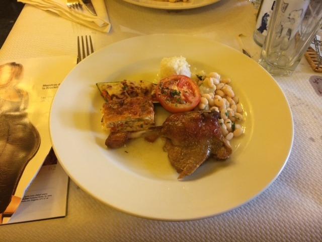 Restaurante L'Arcada Girona - Confit de Pato