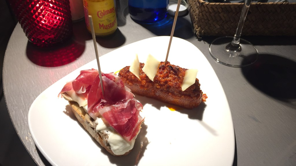 la barra tapas bar pincho jamon