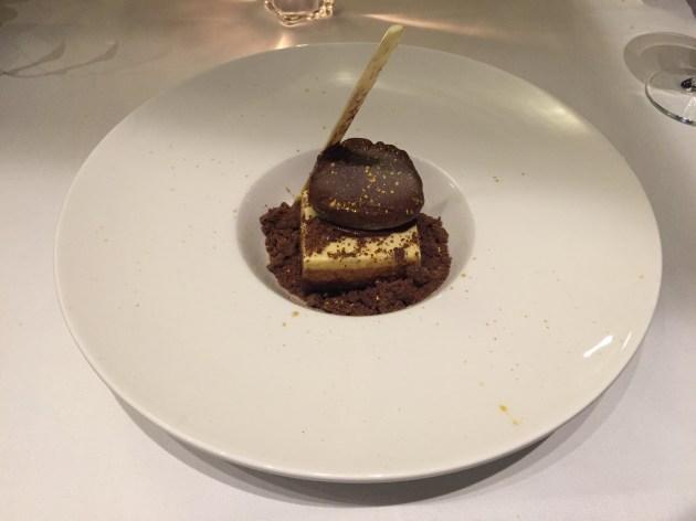 restaurante galaxo mousse de chocolate