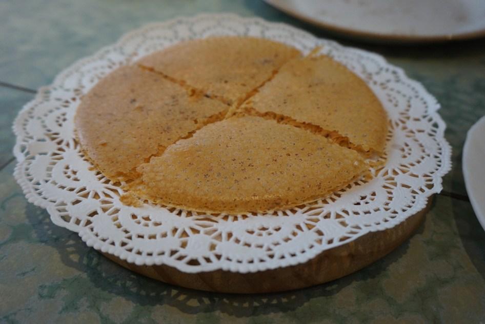 disfrutar restaurante torta de maiz