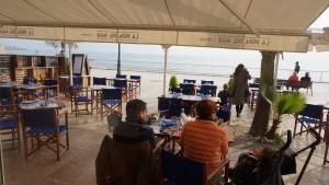 la pepa del mar vistas del restaurante