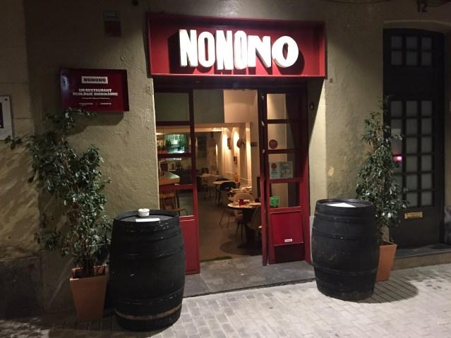 restaurante nonono