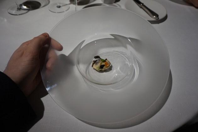 kresios restaurante Cóctel de Cîroc y Manzana verde con Perlas de Tapioca.
