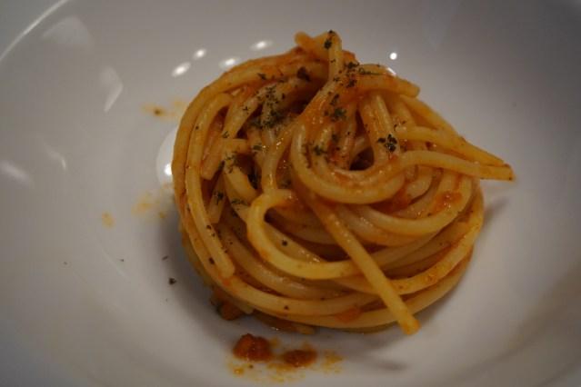 Spaghetti all'amatriciana Le Bouchon by Giuseppe