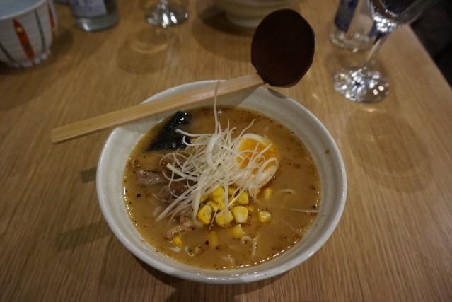 ramen dining yu Ramen de Miso