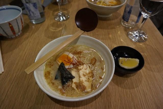 ramen dining yu Shio Ramen
