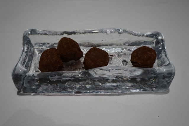 Trufas de Chocolate de La Taverna del Clínic
