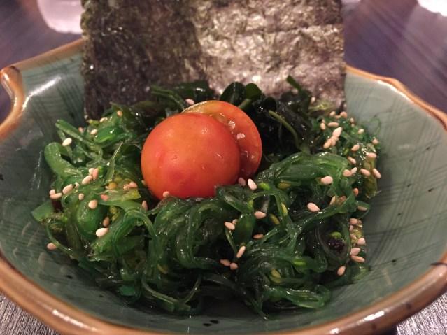 Ramen Shop ensalada wakame