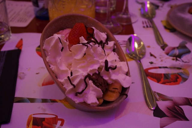 restaurante bananas Banana Split