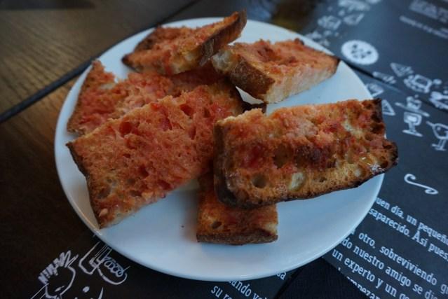 Pico Fino Mercat de Tapes Pan con Tomate
