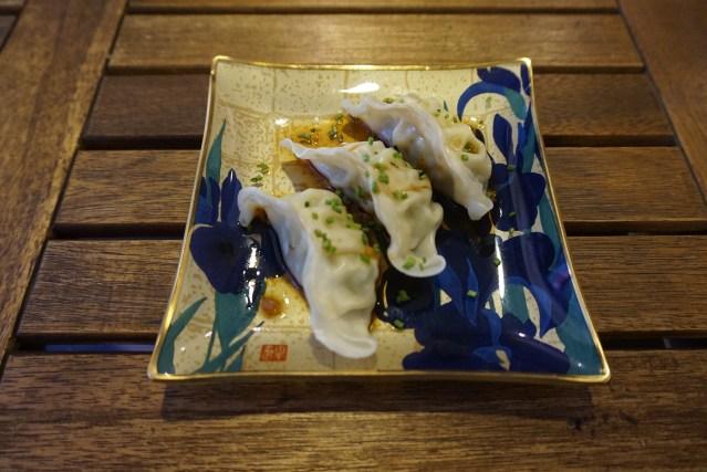 ekimae sushi Gyozas de Pollo