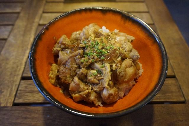 ekimae sushi Oyako Don