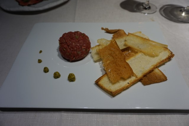Restaurante Filigrana Steak Tartar Angus