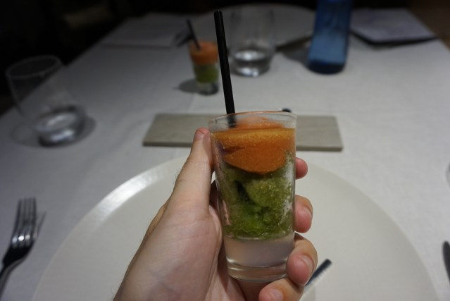 Restaurante Filigrana Aperitivo de Bloody Mary