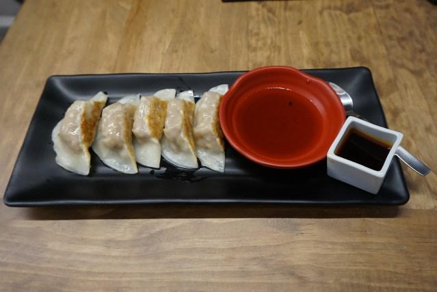 Ichikoro Ramen Gyozas con carne de cerdo y col