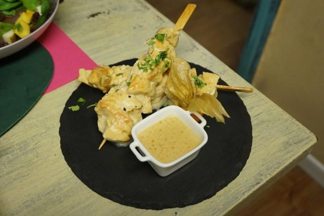 koko restaurante Satay Chicken
